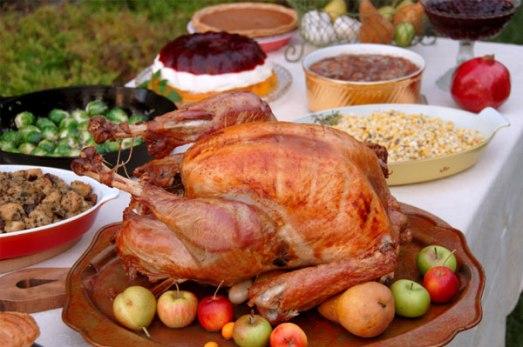 christmas dinner turkey pregnant